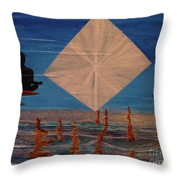 Soycd Throw Pillow by Stuart Engel