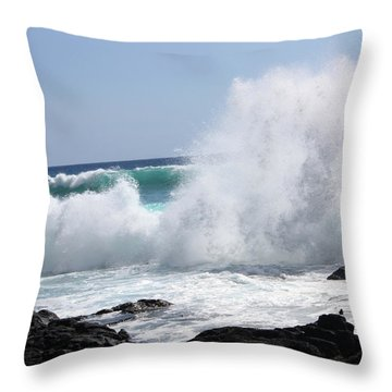 Sp-lash Throw Pillow