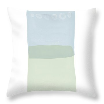 Spa 1- Art By Linda Woods Throw Pillow