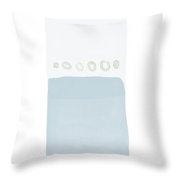 Spa 2- Art By Linda Woods Throw Pillow