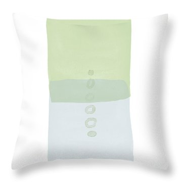 Spa 3- Art By Linda Woods Throw Pillow