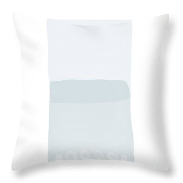 Spa 4- Art By Linda Woods Throw Pillow