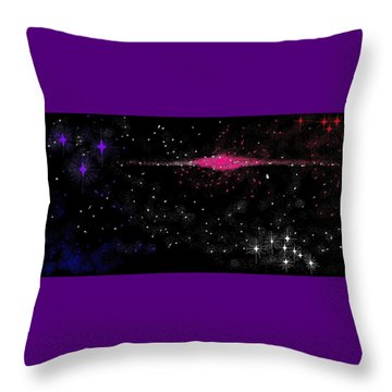Space 4 Throw Pillow