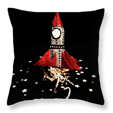 Launch Throw Pillows