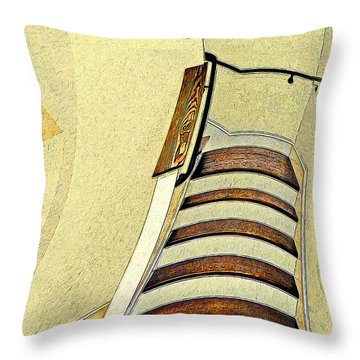 Space Geometry #1 Throw Pillow