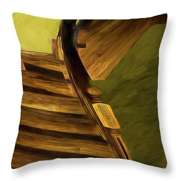 Space Geometry #12 Throw Pillow