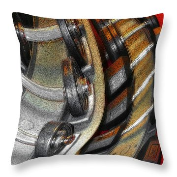 Space Geometry #3 Throw Pillow