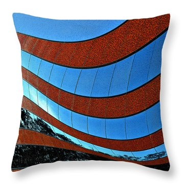 Space Geometry #8 Throw Pillow by Alex Galkin