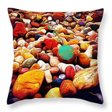 Space I Throw Pillow