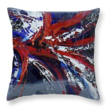 Space Infinity Throw Pillow