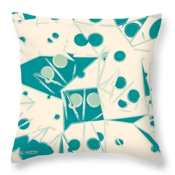 Space-time Throw Pillow