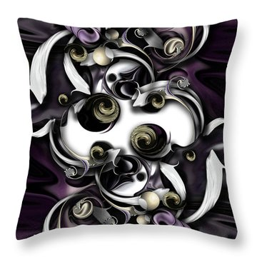Space Or Expression Throw Pillow