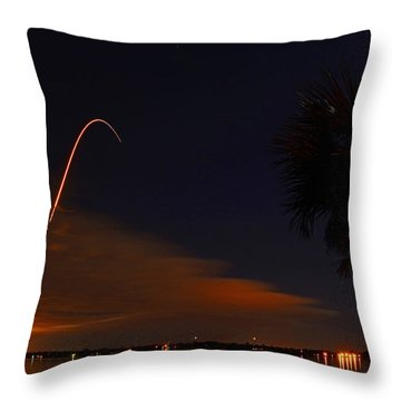 Space Station Bound Throw Pillow