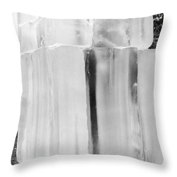 Space Temperature Simulations Throw Pillow