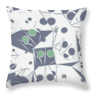 Space Warp  Throw Pillow