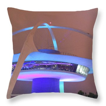 Throw Pillow featuring the photograph Spaceship by Matthew Bamberg