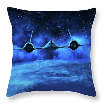 Spaceward Throw Pillow
