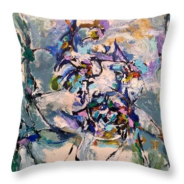 Spacial Encounter Throw Pillow