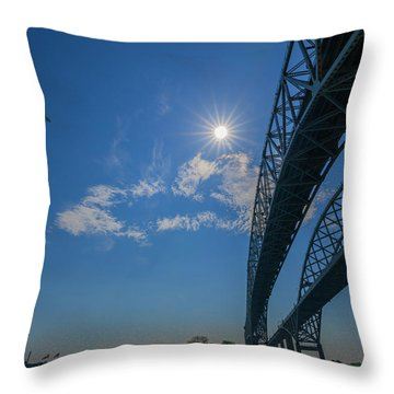 Spacious Skies Throw Pillow
