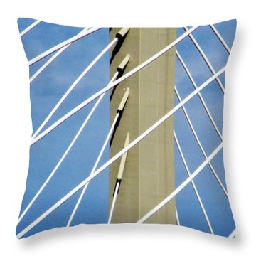 Span Throw Pillow by Martin Cline
