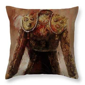 Spanish Culture 2 Throw Pillow