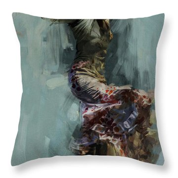 Spanish Culture 9 Throw Pillow
