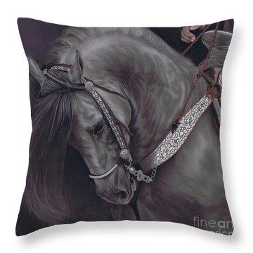 Spanish Horse Throw Pillow