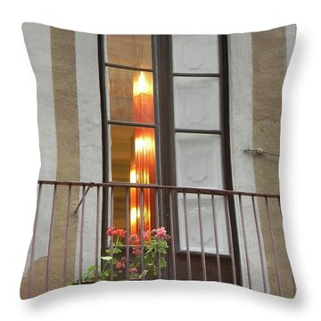 Spanish Siesta Throw Pillow