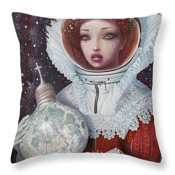 Space Suit Throw Pillows