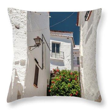 Spanish Street 2 Throw Pillow