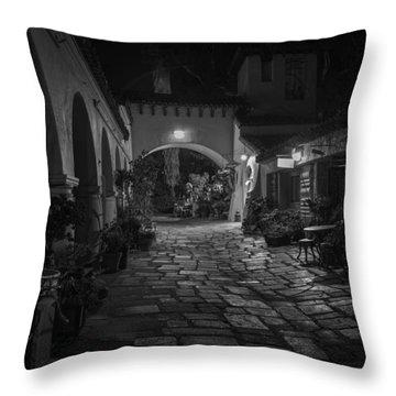 Spanish Village Throw Pillow