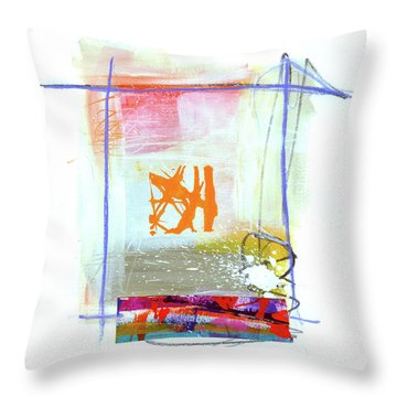 Spare Parts#1 Throw Pillow by Jane Davies