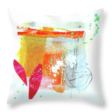 Spare Parts#2 Throw Pillow by Jane Davies