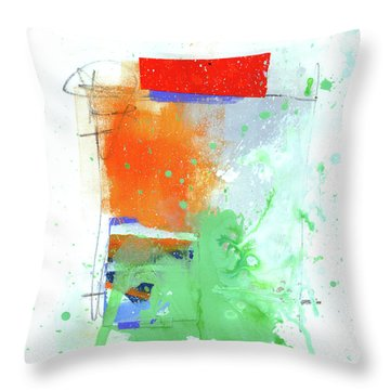 Spare Parts#3 Throw Pillow by Jane Davies