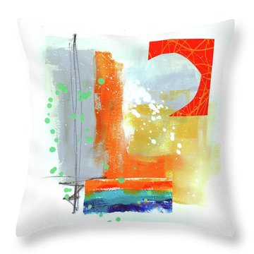Spare Parts#4 Throw Pillow by Jane Davies