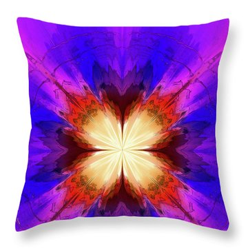 Spark A Fire Throw Pillow
