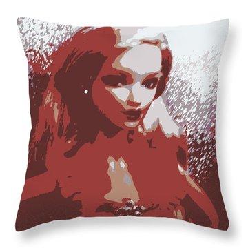 Sparkle Barbie Throw Pillow