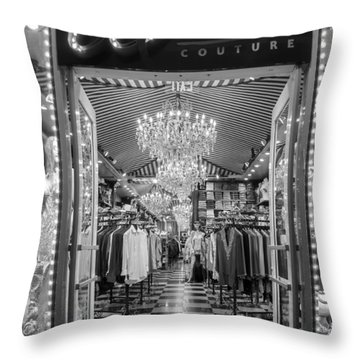 Throw Pillow featuring the photograph Sparkle Rock by Melinda Ledsome