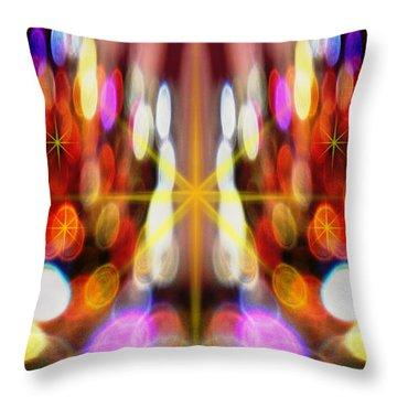 Sparkles #8885_2 Throw Pillow by Barbara Tristan