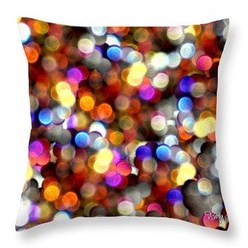 Sparkles #8885_4 Throw Pillow by Barbara Tristan