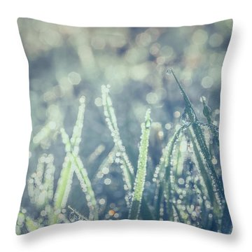 Sparklets Throw Pillow