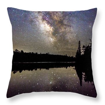 Sparklies On The Lake Throw Pillow