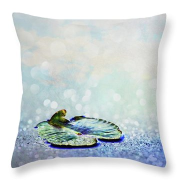 Sparkling Throw Pillow by Aimelle