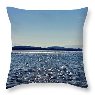 Sparkling Cortez Throw Pillow