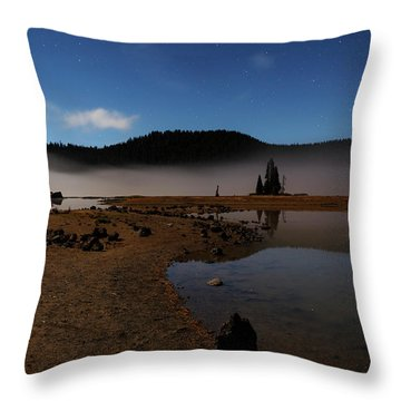 Throw Pillow featuring the photograph Sparks Lake At Dawn by Cat Connor