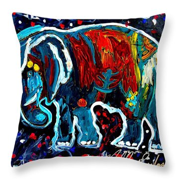 Sparky Throw Pillow