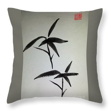 Sparrows Throw Pillow