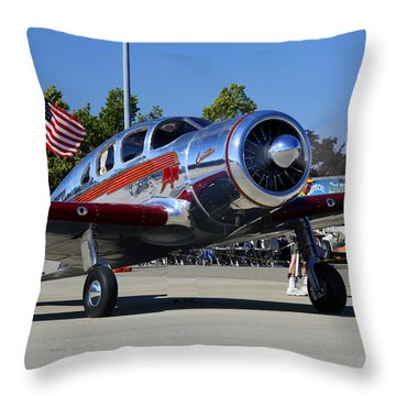 Spartan Executive At Livemore Klvk Memorial Day Weekend 2015 Throw Pillow