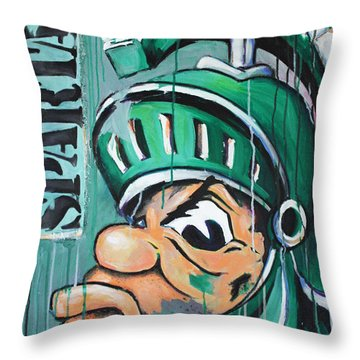 Spartans Throw Pillow