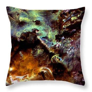 Spatial Interface I Throw Pillow